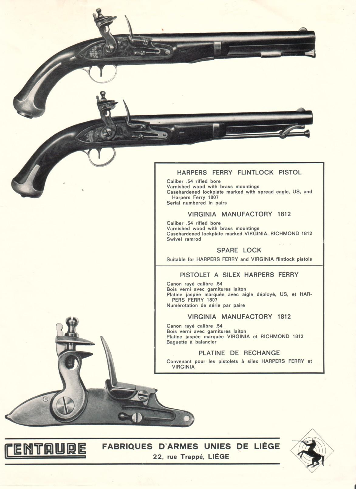 4eb6c1dcaa6 Fabrique d Armes Unies de LIEGE
