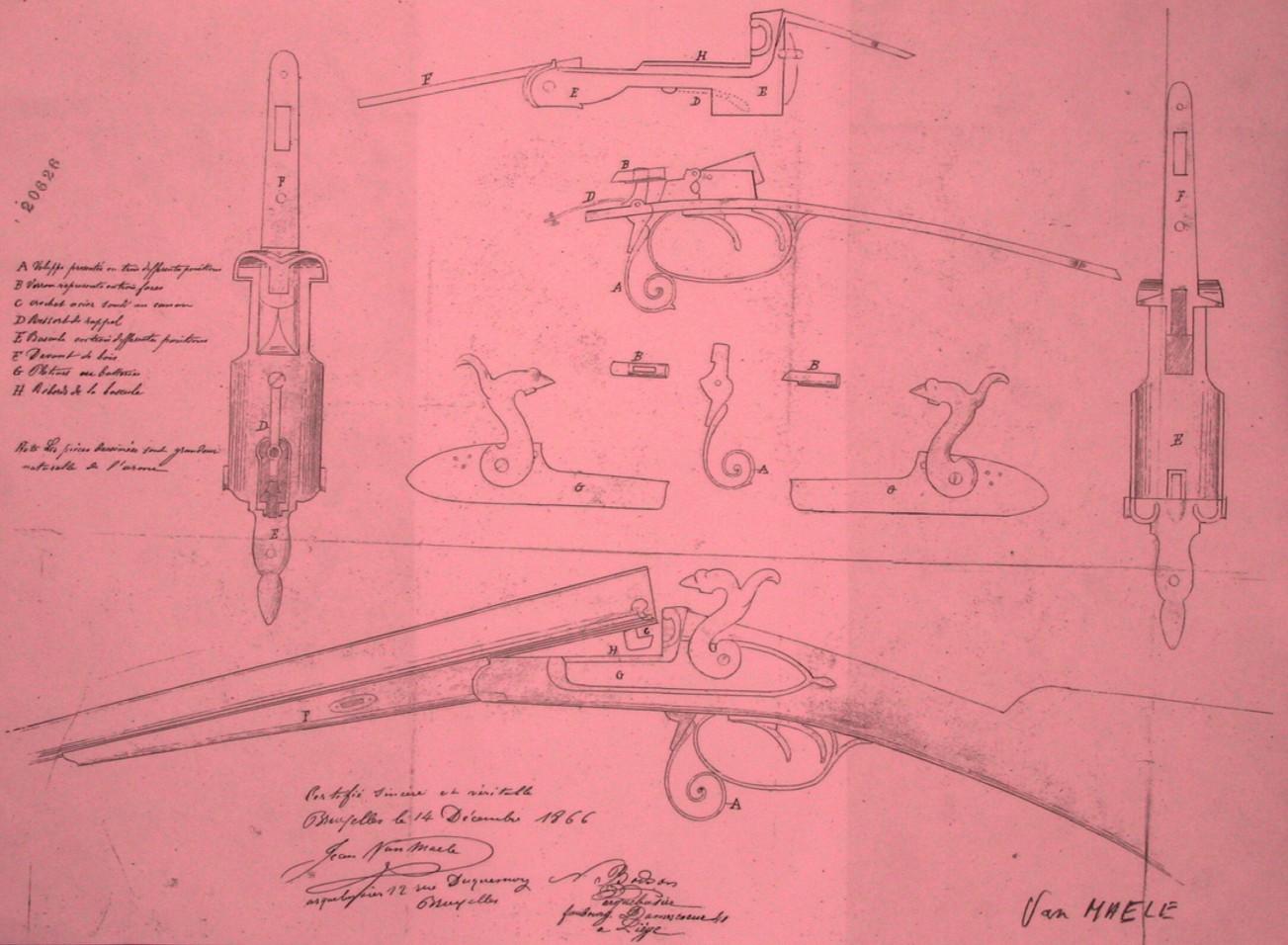 Shotgun 12 GA shell arme fusil cartouche Fake bouton-poussoir Bouton snap métal